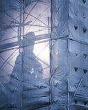 Υλικά σκαλωσιάς Στοκ φωτογραφία με δικαίωμα ελεύθερης χρήσης