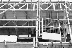 Υλικά σκαλωσιάς Στοκ εικόνα με δικαίωμα ελεύθερης χρήσης