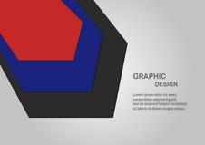 Υλική κάλυψη σχεδίου με το διάστημα κειμένων Στοκ Εικόνες