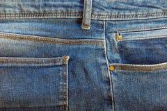 υλική σύσταση μερών τζιν παντελόνι στοκ φωτογραφία με δικαίωμα ελεύθερης χρήσης