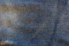 υλική σύσταση μερών τζιν παντελόνι Στοκ εικόνες με δικαίωμα ελεύθερης χρήσης
