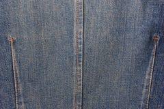 υλική σύσταση μερών τζιν παντελόνι Στοκ εικόνα με δικαίωμα ελεύθερης χρήσης