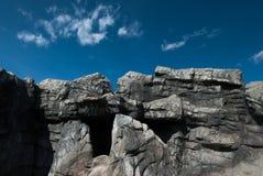 Υλικό βράχων Στοκ εικόνα με δικαίωμα ελεύθερης χρήσης