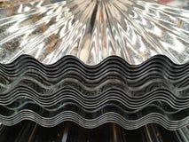 Υλικό κατασκευής σκεπής μετάλλων στοκ φωτογραφία