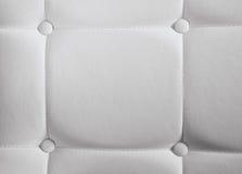 υλικό συνθετικό λευκό σύστασης δέρματος Στοκ φωτογραφίες με δικαίωμα ελεύθερης χρήσης