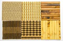 υλικό σχεδίων κουρτινών μπαμπού Στοκ εικόνα με δικαίωμα ελεύθερης χρήσης