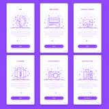 Υλικό σύνολο προτύπων σχεδίου, UI, UX και GUI διανυσματική απεικόνιση
