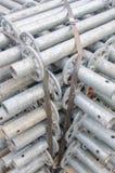 Υλικό υλικών σκαλωσιάς Στοκ εικόνα με δικαίωμα ελεύθερης χρήσης
