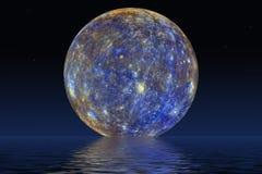 Υδράργυρος πλανητών στοκ εικόνες