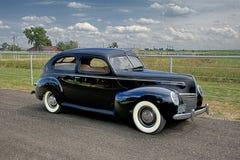 1939 υδράργυρος Tudor Coupe Στοκ Εικόνες
