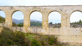 υδραγωγείο, ρωμαϊκή αψίδα νερού ύφους, safranbolu, Τουρκία απόθεμα βίντεο