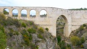 υδραγωγείο, ρωμαϊκή αψίδα νερού ύφους, safranbolu, Τουρκία φιλμ μικρού μήκους