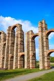 Υδραγωγείο Acueducto Los Milagros Μέριντα Badajoz Στοκ εικόνα με δικαίωμα ελεύθερης χρήσης