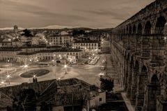 Υδραγωγείο Segovia Στοκ εικόνες με δικαίωμα ελεύθερης χρήσης