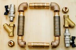 Υδραυλικά εργαλείων Στοκ Εικόνες