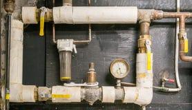 Υδραυλικά - παλαιά ουσία Στοκ φωτογραφία με δικαίωμα ελεύθερης χρήσης