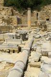 Υδραυλικά Anique στις αρχαιολογικές ανασκαφές, Στοκ φωτογραφίες με δικαίωμα ελεύθερης χρήσης