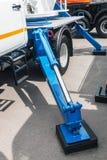 Υδραυλική γερανών για την ανύψωση στοκ φωτογραφίες με δικαίωμα ελεύθερης χρήσης