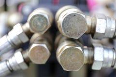 Υδραυλική σύζευξη Στοκ φωτογραφίες με δικαίωμα ελεύθερης χρήσης