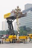 Υδραυλικός ανελκυστήρας για τη συντήρηση φαναριών, Πεκίνο, Κίνα Στοκ φωτογραφία με δικαίωμα ελεύθερης χρήσης