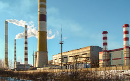 υδροηλεκτρικός σταθμός Στοκ φωτογραφία με δικαίωμα ελεύθερης χρήσης