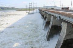 Υδροηλεκτρικός Στοκ Εικόνες