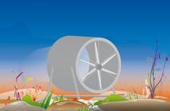υδροηλεκτρικός Στοκ φωτογραφία με δικαίωμα ελεύθερης χρήσης