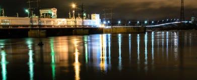 υδροηλεκτρικός Στοκ Φωτογραφία