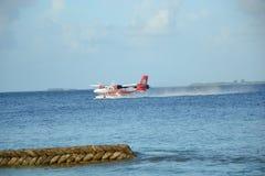 Υδροπλάνο των Μαλδίβες Στοκ Εικόνα