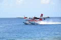 Υδροπλάνο των Μαλδίβες Στοκ Εικόνες