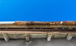 υδρορροή παλαιά στοκ φωτογραφίες
