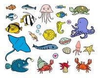 Υδρόβια ζώα απεικόνιση αποθεμάτων