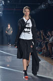 Υ-3 επίδειξη μόδας της Νέας Υόρκης στοκ φωτογραφίες με δικαίωμα ελεύθερης χρήσης