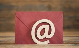 Φάκελοι εικονιδίων Διαδικτύου συμβόλων ηλεκτρονικού ταχυδρομείου Στοκ φωτογραφία με δικαίωμα ελεύθερης χρήσης