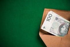 Φάκελος για την ανέντιμες πολιτική, τη δωροδοκία και τη δωροδοκία Στοκ Εικόνες