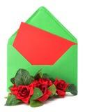 φάκελος ντεκόρ floral στοκ φωτογραφία