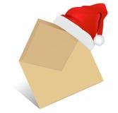 φάκελος Χριστουγέννων ελεύθερη απεικόνιση δικαιώματος
