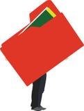 Φάκελλος πορτών ελεύθερη απεικόνιση δικαιώματος