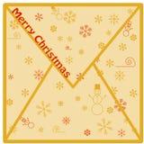 Φάκελος Χριστουγέννων No.1 Στοκ εικόνα με δικαίωμα ελεύθερης χρήσης