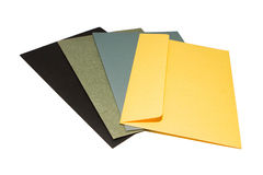Φάκελος χρώματος Στοκ εικόνα με δικαίωμα ελεύθερης χρήσης