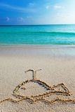 φάλαινα άμμου εικόνων Στοκ Φωτογραφίες
