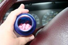 Φάρμακα και Drive Στοκ Φωτογραφίες
