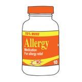 Φάρμακο αλλεργίας για όταν παίρνετε τα Itchy, υδατώδη μάτια, Sneeze, και το βήχα ελεύθερη απεικόνιση δικαιώματος