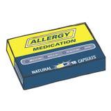 Φάρμακο αλλεργίας για όταν παίρνετε τα Itchy, υδατώδη μάτια, Sneeze, και το βήχα απεικόνιση αποθεμάτων
