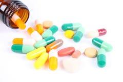 φάρμακο μπουκαλιών Στοκ Εικόνες