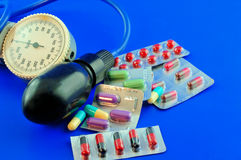 φάρμακο υπέρτασης Στοκ Εικόνα