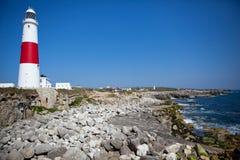 Φάρος του Πόρτλαντ Μπιλ, Dorset, UK, Jurassic ακτή Στοκ φωτογραφία με δικαίωμα ελεύθερης χρήσης