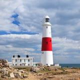 Φάρος του Πόρτλαντ Μπιλ, Dorset, UK, Jurassic ακτή Στοκ εικόνες με δικαίωμα ελεύθερης χρήσης