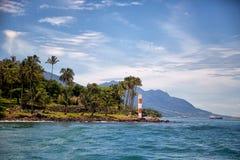 Φάρος ακτών Ilhabela Στοκ φωτογραφία με δικαίωμα ελεύθερης χρήσης