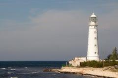 φάρος Κριμαίος Καλοκαίρι γύρος θάλασσας υπολοίπου στοκ εικόνες